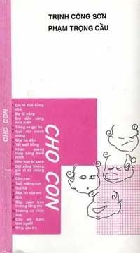Bìa tập nhạc Cho Con