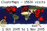 Visits map to 2005-10
