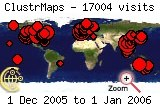 Visits map to 2005-12