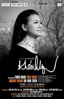Khanh Ly sẽ trình diễn ngày 09/05/2014 tại Hà Nội