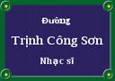 Khi nào có phố mang tên Trịnh Công Sơn?