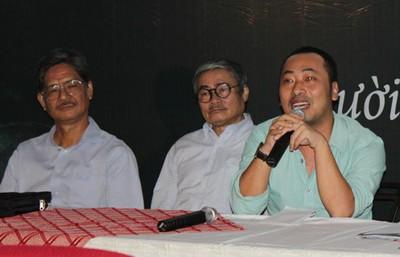 Nguyễn Quang Dũng tại buổi họp báo