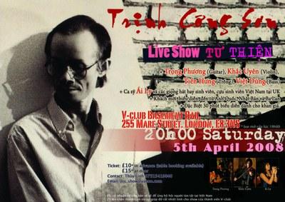 Poster Liveshow TCS