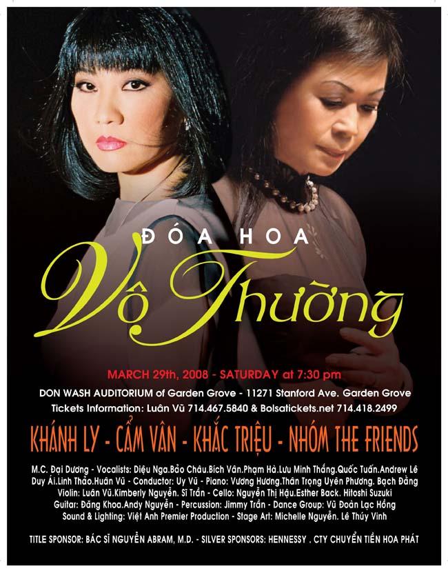"""Poster mới, sau khi Nhật Báo Người Việt nhận được thông báo """"mời"""" đến tham dự cuộc biểu tình chống nhạc hội trình diễn ca nhạc Trịnh Công Sơn nhân 7 năm ngày mất của nhạc sĩ này."""