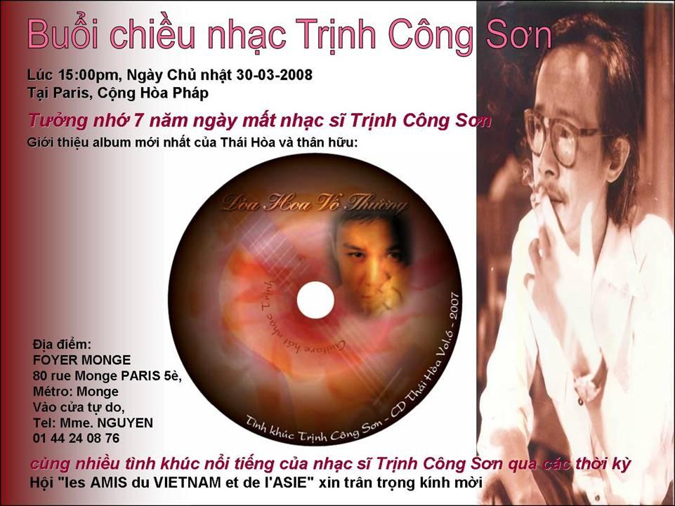 Poster Chiều nhạc Trinh