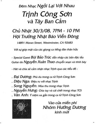 Poster Nhóm Hướng Dương
