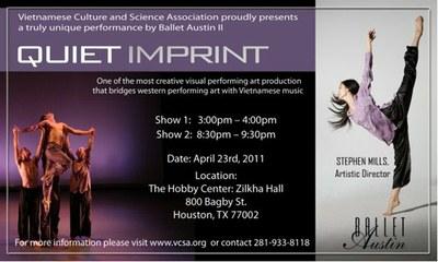Quiet Imprint Poster