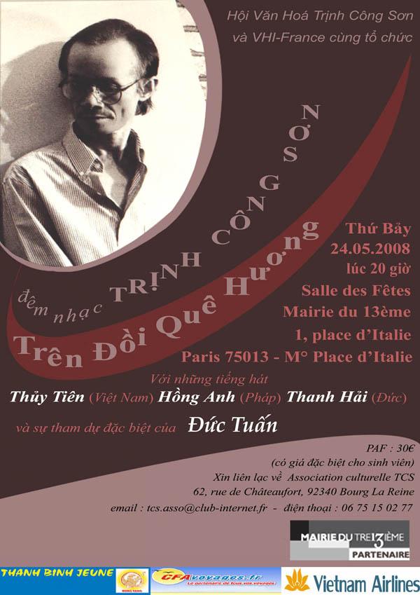 Poster Trên Đồi Quê Hương (Paris)