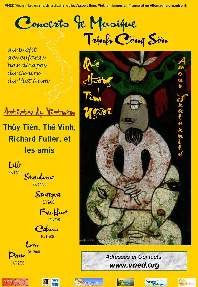Poster Quê Hương Tình Người