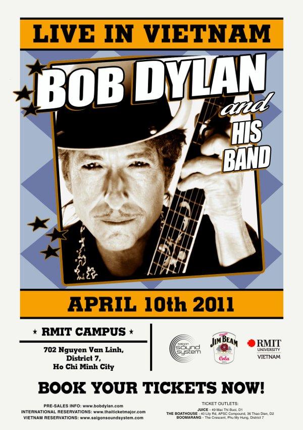Bob Dylan đã được cấp giấy phép biểu diễn