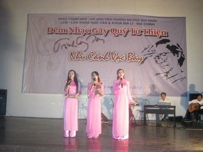 Sinh viên Đại học Quy Nhơn