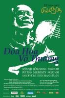 Kỷ niệm 12 năm ngày mất của nhạc sĩ Trịnh Công Sơn