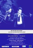 Đêm nhạc Hạ Huyền - Paris : bắt đầu xuất vé