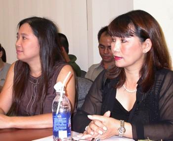 Ca sĩ VK Trịnh Vĩnh Trinh tại buổi họp báo