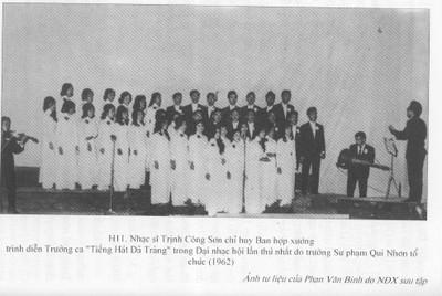 """TCS điều khiển bản trường ca """"Dã tràng ca"""" tại Quy Nhơn."""
