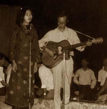 Khánh Ly và Trịnh Công Sơn - Sài gòn, 1967