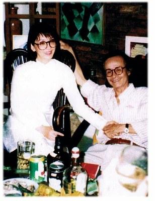 Dao Ánh một lần gặp gỡ Trịnh Công Sơn
