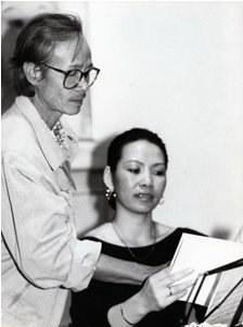 TCS và em gái Trịnh Vĩnh Trinh