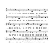 music sheet 2