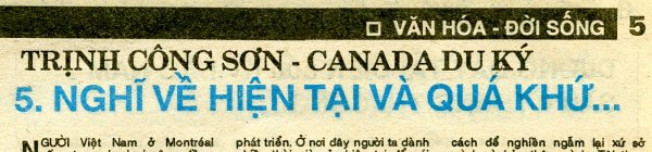 CANADA  DU KÝ